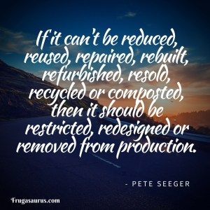 Pete Seeger, removed from production