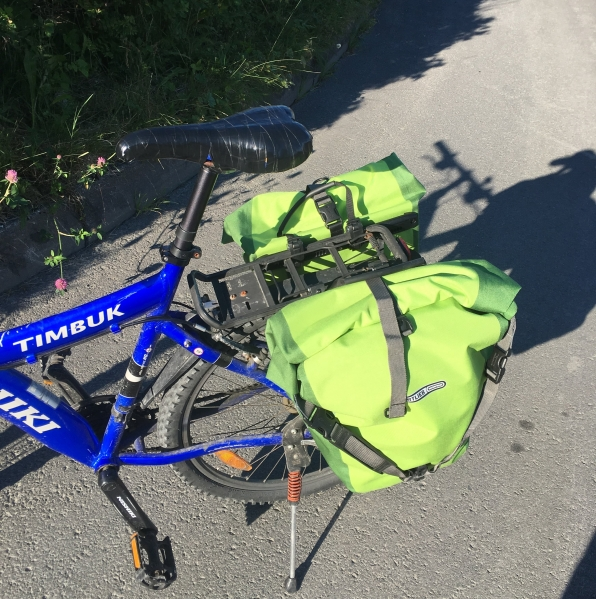 My new best friend - panniers from Ortlieb